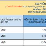Voucher Book phòng villa 2 ngủ Vinpearl Nha Trang Long Beach bao nhiêu tiền ?